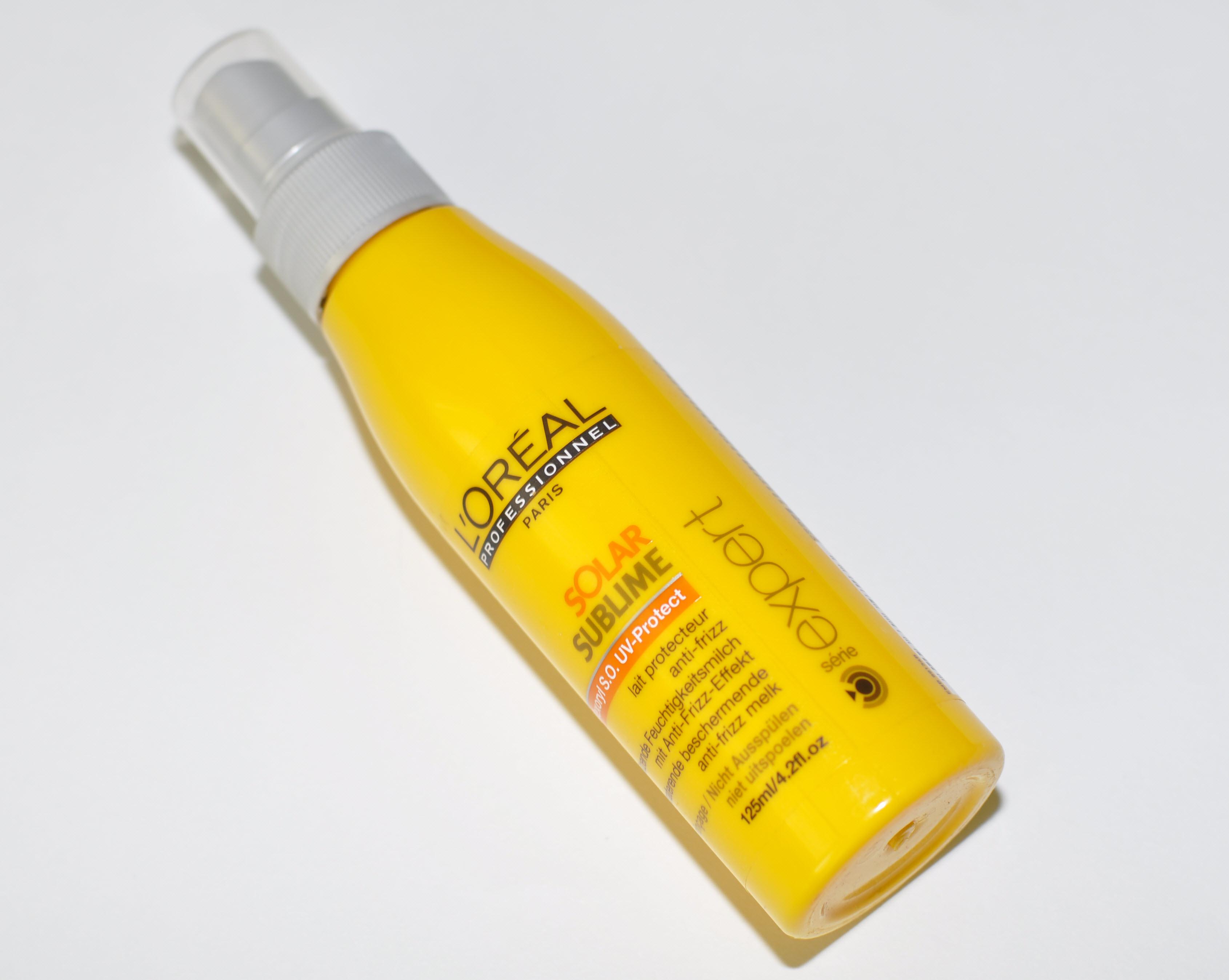 Средство для защиты волос от солнца